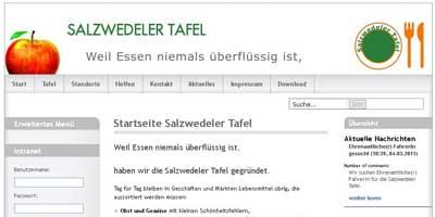 Internetauftrit der Salzwedeler afel